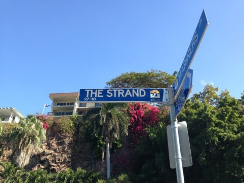 The Strand.Street Sign