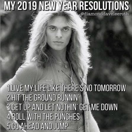 Tuesday S Memes David Lee Roth 2 Loud 2 Old Music