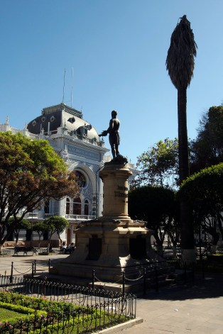 Plaza 25 de Mayo in Sucre.