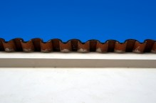 Roof tiles.