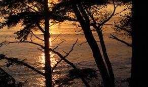 French Beach sunset.
