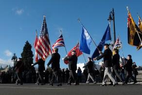 Victoria Remembrance Day Parade.