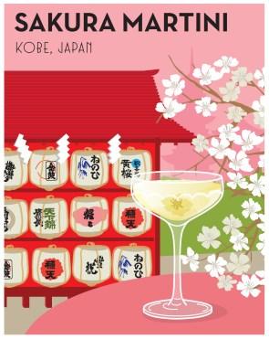 Around the World in 80 Cocktails_Sakura Martini
