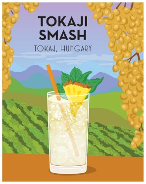 Around the World in 80 Cocktails_Tokaji Smash
