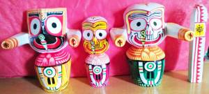 Jagannath Baladeva Subadra Sudarshan 5 Inches