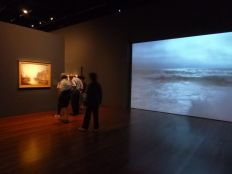 video installation and start of the paintings
