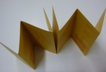 or fold at the bottom