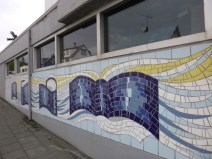 Most excellent mosaic mural.