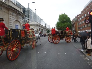 royal carriages!