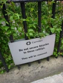 the railings?