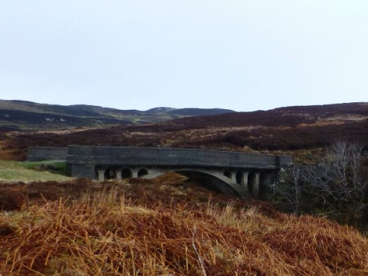 The Bridge at Garry (the bridge to nowhere).