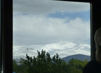 Only a few days until Summer and the hills are covered in snow.
