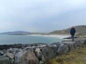 The bay where Bonnie Prince Charlie landed.