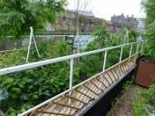 Not a plot, not a wheelbarrow, not a boat, this time a Barge Garden.