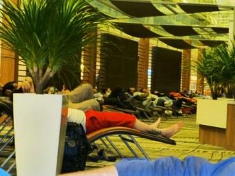 Banana Lounge sleepers.