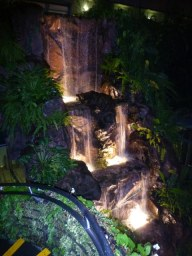 Waterfall in the Butterfly House.