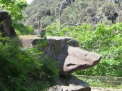 "My ""Grizzly Rock"", Cataract Gorge, Launceston."