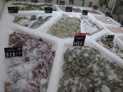 Fresh fish at Carrefour
