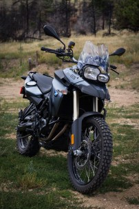 The mighty BMW F800GS