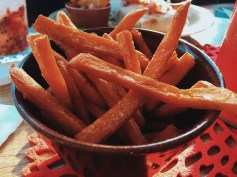 Sweet potato fries Revoloucion De Cuba Milton Keynes