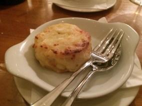 Olivier's at Woburn Hotel, dauphinaise potato