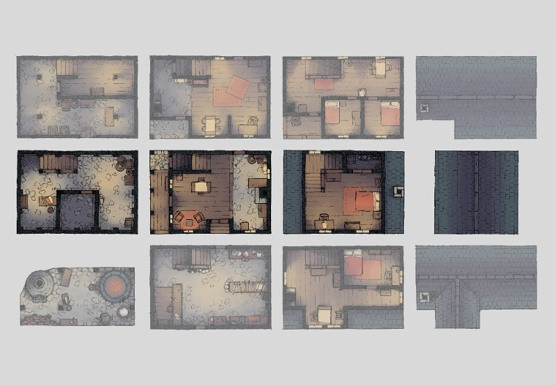 picture about Printable Dnd Grid named 2-Moment \