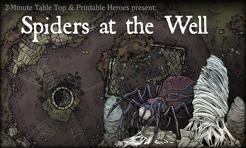 Spiders at the Well