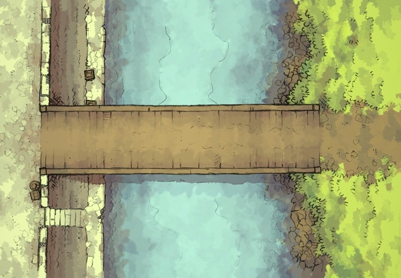 East Bridge (color)
