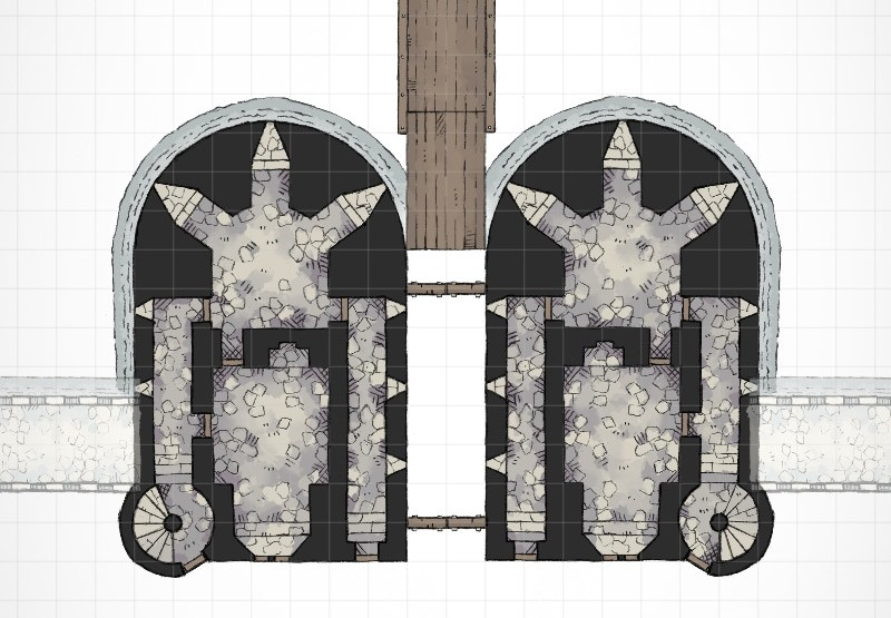 Castle Gatehouse (roll20)