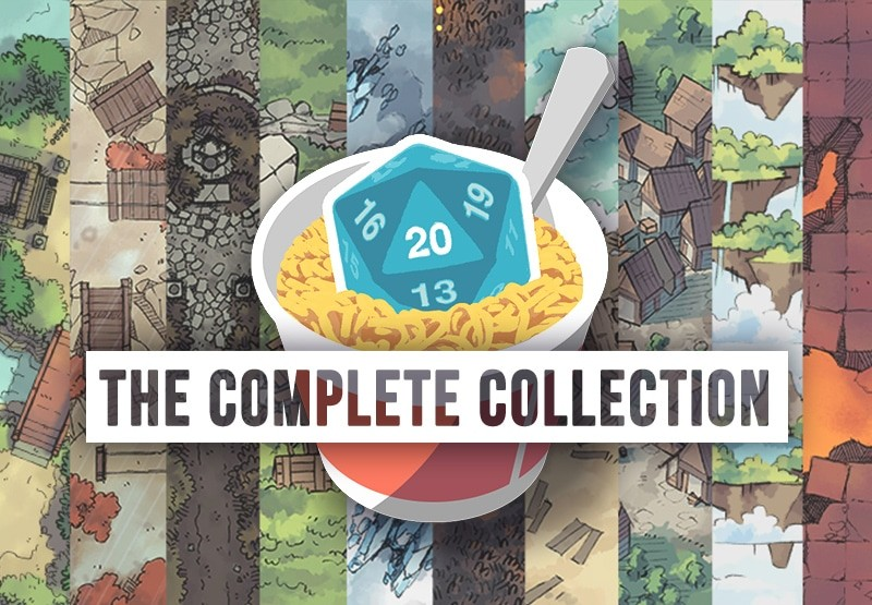 2-Minute Table Top Everything Pack Complete Map Prop Collection