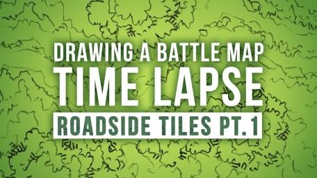 Speed Drawing Roadside Map Tiles Thumbnail
