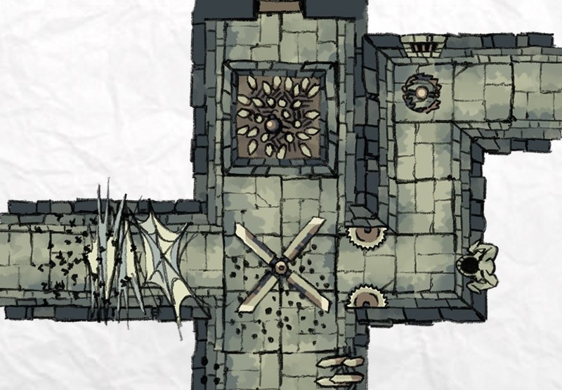 Dungeon Trap Tokens, preview 2