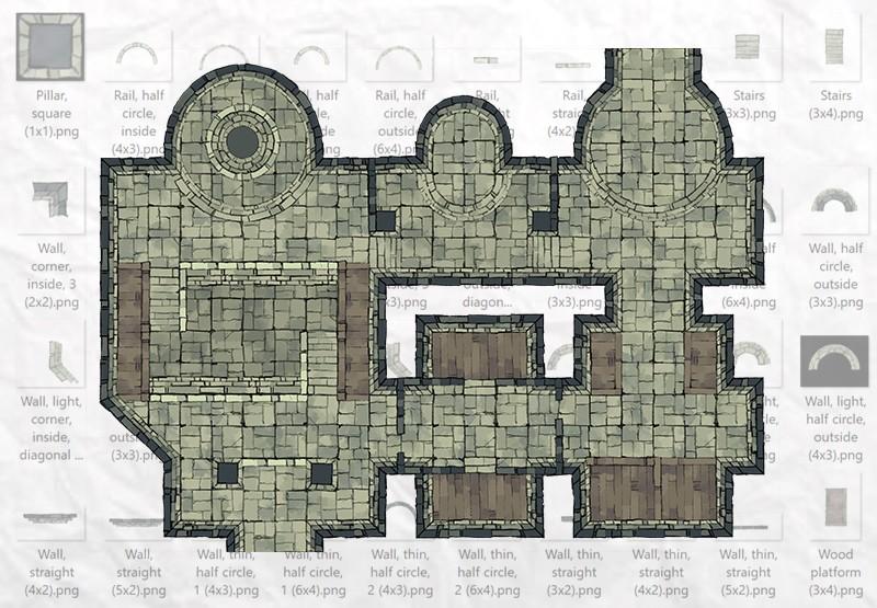 Dungeon Room Builder Demo