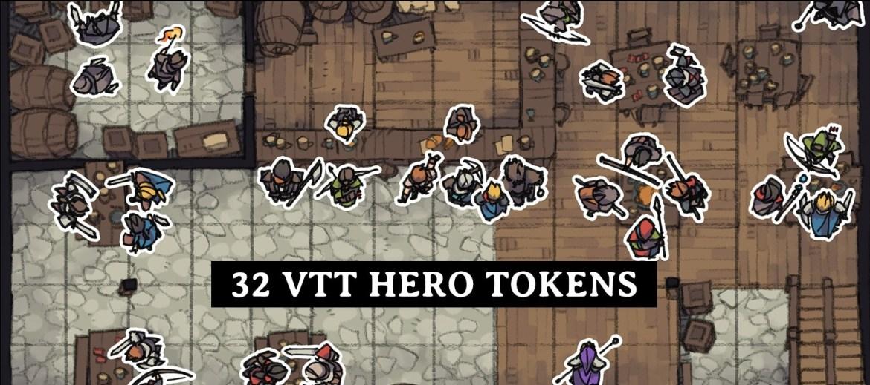 Hero Tokens, VTT Tavern Preview Banner