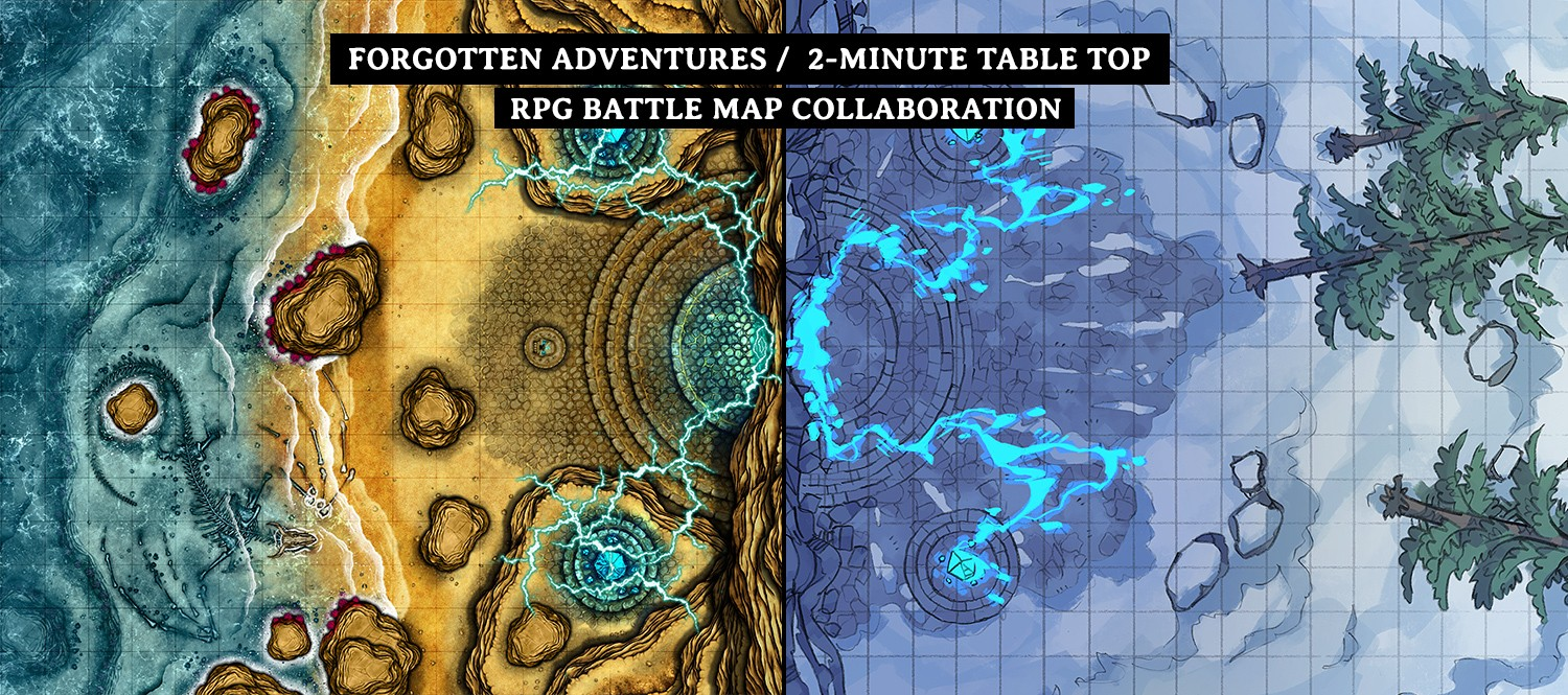 Battle Map: Volatile Portal map collaboration banner