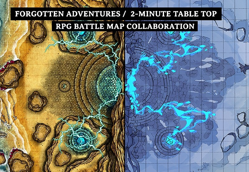 Battle Map: Volatile Portal map collaboration