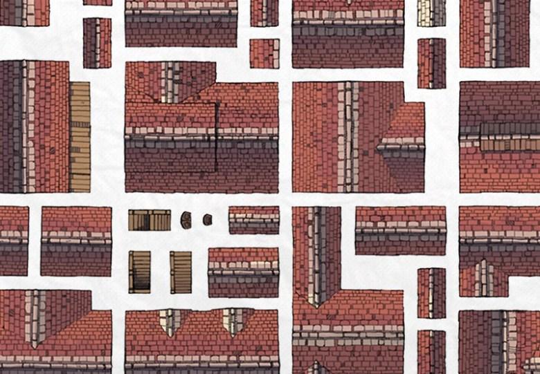 Buildings RPG battle maps, Preview