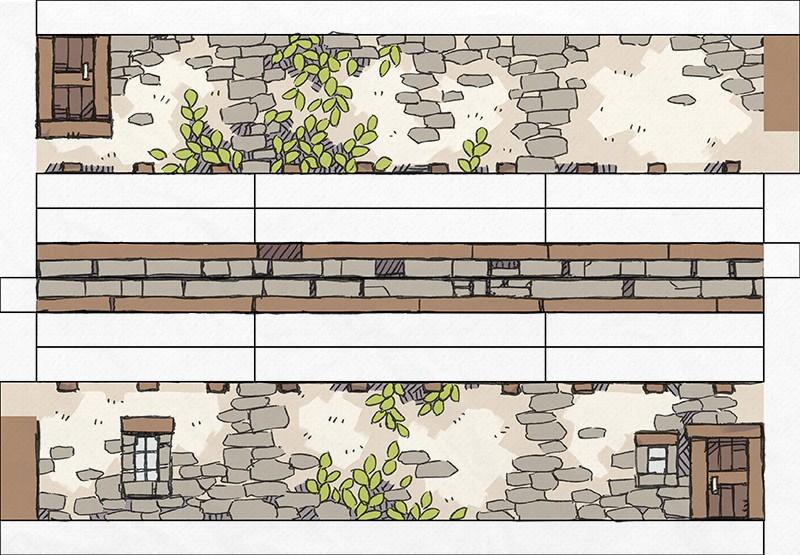 Papercraft Cottage 3D Battle Map, Page 2