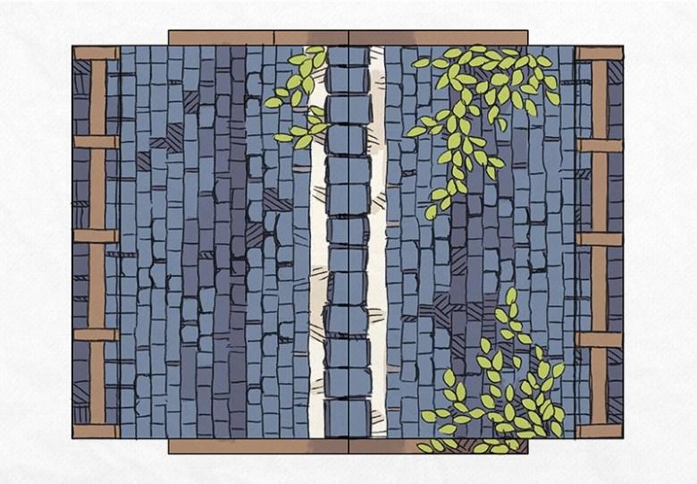 Papercraft Cottage 3D Battle Map, Page 3