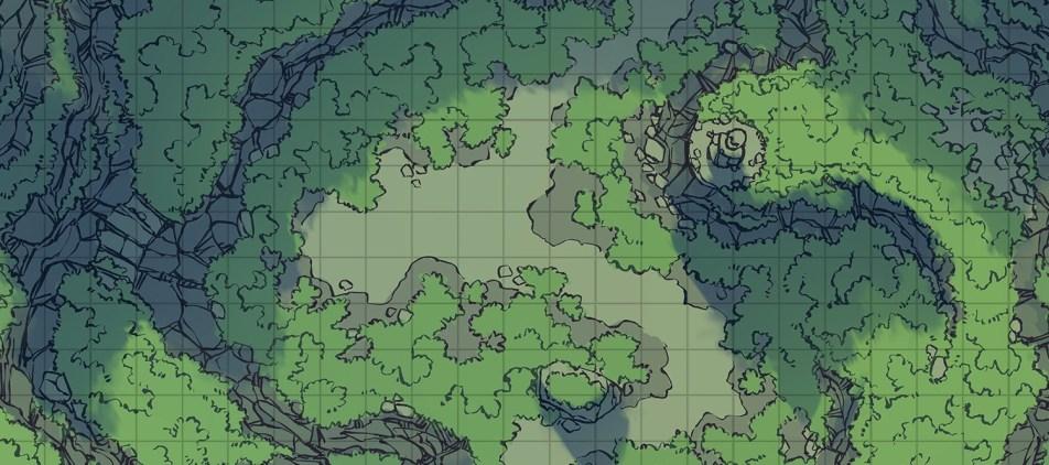 Highland Pass battle map, banner