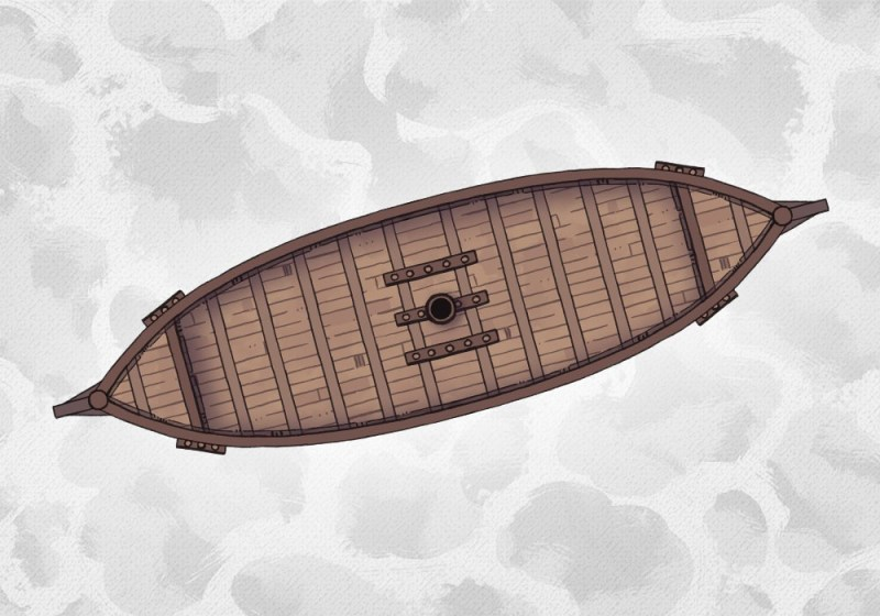 Dragonship, Rowboat, Viking Longship battle maps, Dragonship