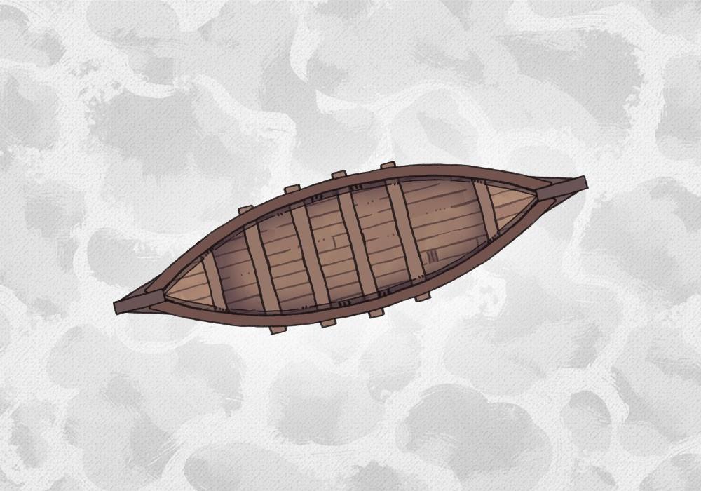 Dragonship, Rowboat, Viking Longship battle maps, Rowboat