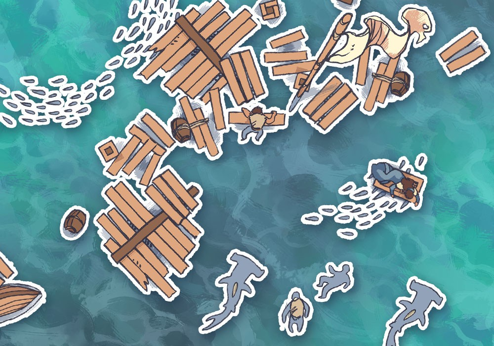Ocean Surface RPG Map Assets, preview
