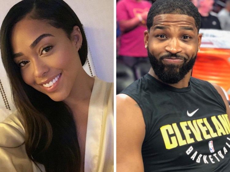 Tristan Thompson Spotted Getting Cozy With Jordyn Woods At ...