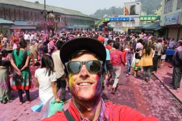 Holi in Gangtok