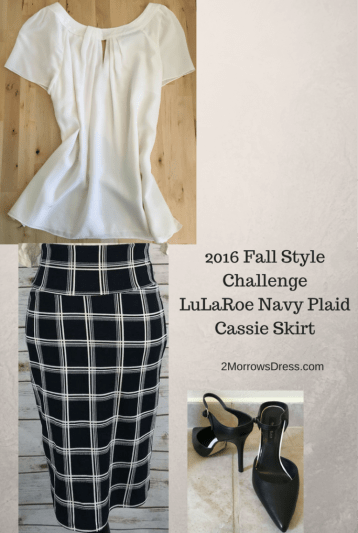 2016-fall-style-challenge-lularoe-cassie-navy-plaid-skirt