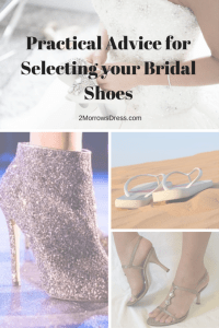 Bridal Shoes - Practical Advice