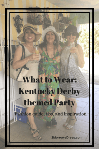 What to Wear: Kentucky Derby themed Party