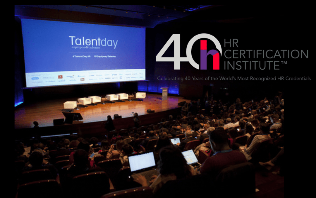 Talent Day Barcelona, Evento Registrado por HRCI® con créditos de recertificación