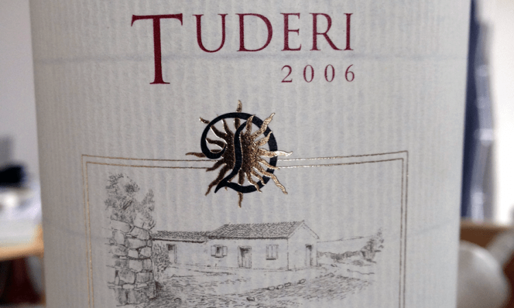 Label: 2006 Tenute Dettori Tuderi